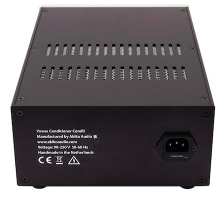 Akiko Audio Power Conditioner Corelli back